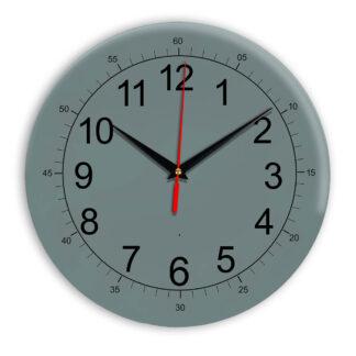 Настенные часы Ideal 922 серо синий