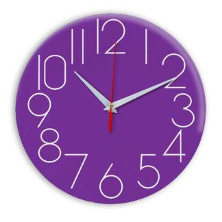 Настенные часы Ideal 923 фиолетовые