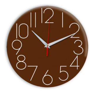 Настенные часы Ideal 923 коричневый