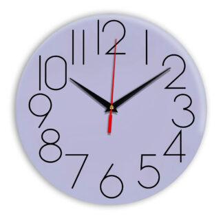 Настенные часы Ideal 923 сиреневый светлый