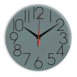 Настенные часы Ideal 923 серо синий