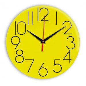 Настенные часы Ideal 923 желтые