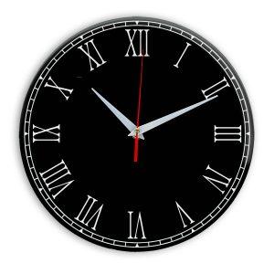 Настенные часы Ideal 924 черные