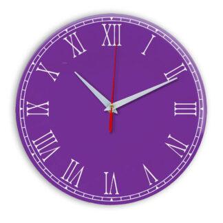 Настенные часы Ideal 924 фиолетовые