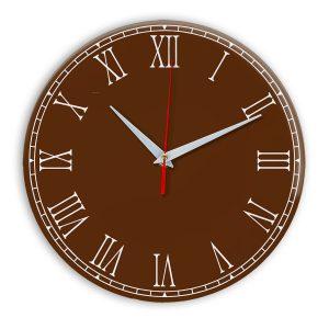 Настенные часы Ideal 924 коричневый