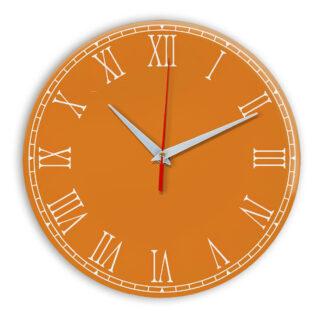 Настенные часы Ideal 924 оранжевый