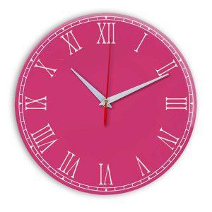 Настенные часы Ideal 924 розовые