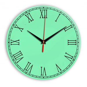 Настенные часы Ideal 924 светлый зеленый