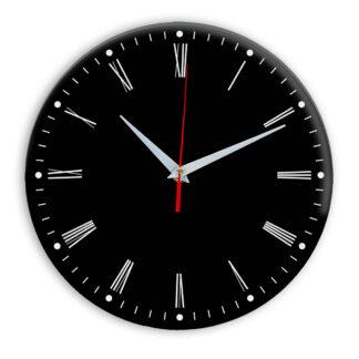 Настенные часы Ideal 925 черные