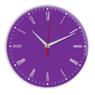 Настенные часы Ideal 925 фиолетовые