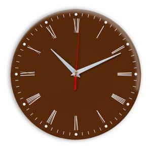 Настенные часы Ideal 925 коричневый