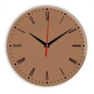 Настенные часы Ideal 925 коричневый светлый