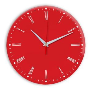 Настенные часы Ideal 925 красный