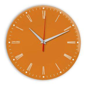 Настенные часы Ideal 925 оранжевый