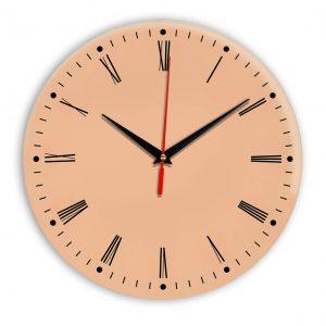 Настенные часы Ideal 925 оранжевый светлый