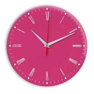Настенные часы Ideal 925 розовые