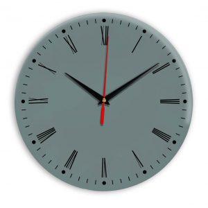Настенные часы Ideal 925 серо синий