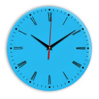 Настенные часы Ideal 925 синий светлый