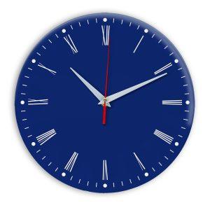 Настенные часы Ideal 925 синий темный