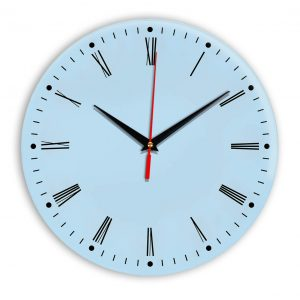 Настенные часы Ideal 925 светло-голубой