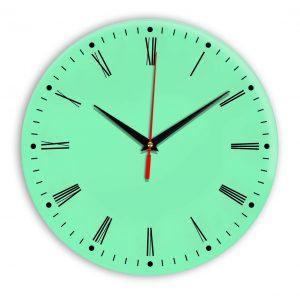 Настенные часы Ideal 925 светлый зеленый