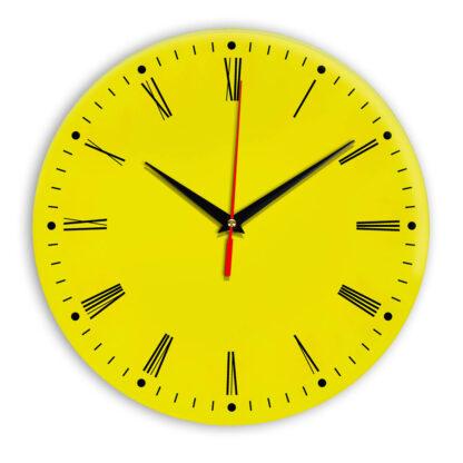 Настенные часы Ideal 925 желтые