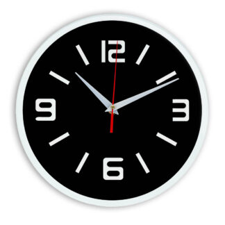 Настенные часы Ideal 926 черные
