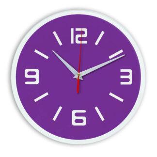 Настенные часы Ideal 926 фиолетовые