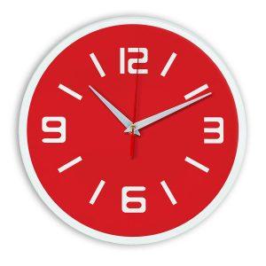 Настенные часы Ideal 926 красный