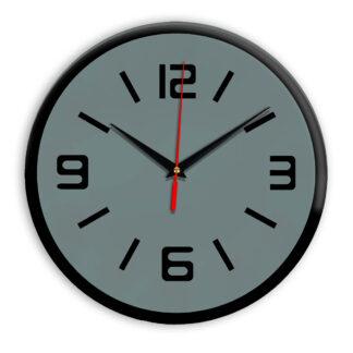Настенные часы Ideal 926 серо синий