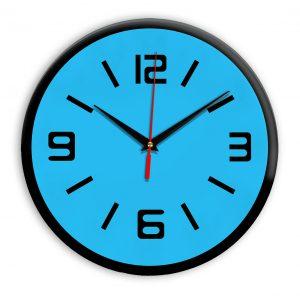 Настенные часы Ideal 926 синий светлый