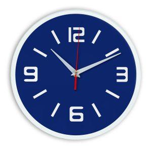 Настенные часы Ideal 926 синий темный