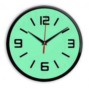 Настенные часы Ideal 926 светлый зеленый