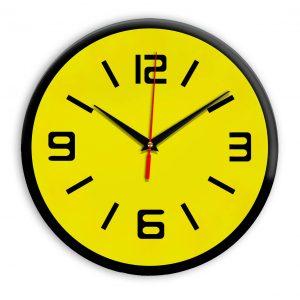 Настенные часы Ideal 926 желтые
