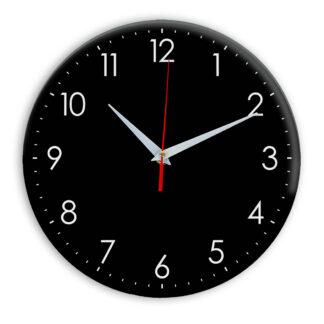 Настенные часы Ideal 927-1 черные