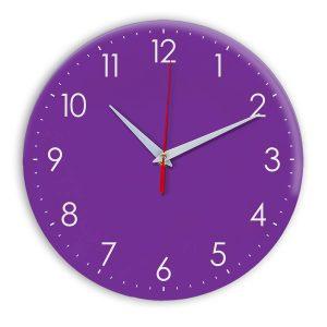Настенные часы Ideal 927-1 фиолетовые