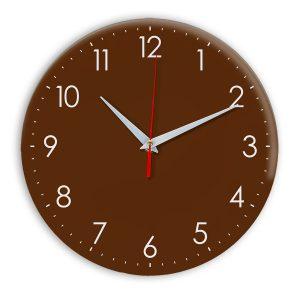 Настенные часы Ideal 927-1 коричневый