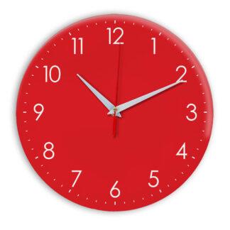 Настенные часы Ideal 927-1 красный