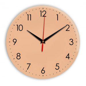 Настенные часы Ideal 927-1 оранжевый светлый