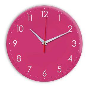Настенные часы Ideal 927-1 розовые