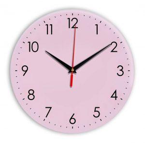 Настенные часы Ideal 927-1 розовые светлый