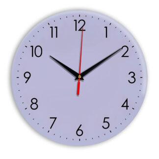 Настенные часы Ideal 927-1 сиреневый светлый