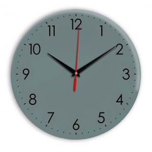 Настенные часы Ideal 927-1 серо синий