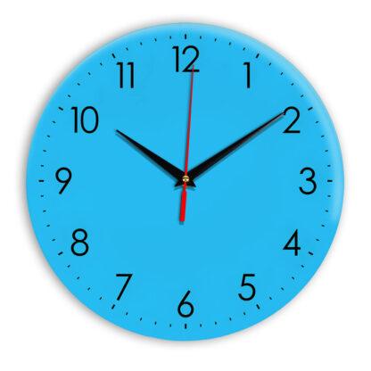 Настенные часы Ideal 927-1 синий светлый