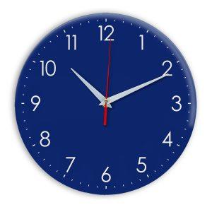 Настенные часы Ideal 927-1 синий темный