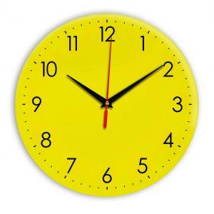 Настенные часы Ideal 927-1 желтые