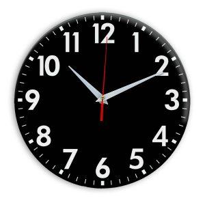 Настенные часы Ideal 927 черные
