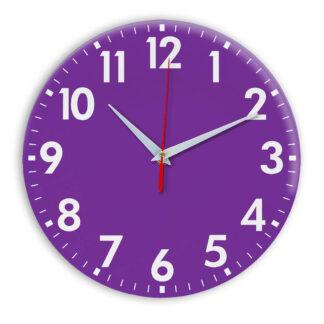 Настенные часы Ideal 927 фиолетовые