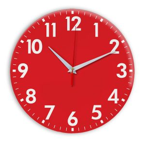 Настенные часы Ideal 927 красный