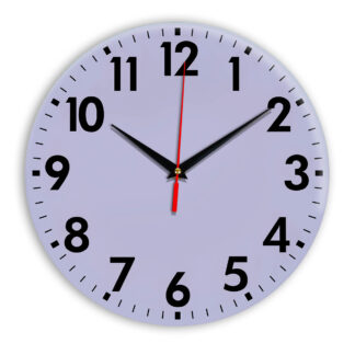 Настенные часы Ideal 927 сиреневый светлый